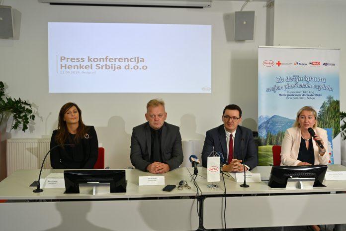 Henkel Srbija nastavlja da ulaže u razvoj poslovanja i zajednicu: Otvorena nova fabrika u Kruševcu i najavljena još jedna humanitarna kampanja sa kompanijom Delez Srbija, za decu iz siromašnijih porodica